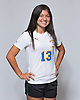 Danielle Michelini of East Meadow poses for a portrait during the Newsday 2015 varsity girls' soccer season preview photo shoot at company headquarters on Thursday, September 10, 2015.<br /> <br /> James Escher