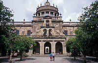 The Instituto Cultural de Cabanas, Guadalajara, Mexico. This former hospital (Hospicio Cabanas) was declared a UNESCO World Heritage site in 1997.