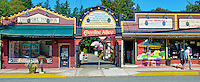 Gasoline Alley Fort Langley B.C. home to The Fort Toy Box, Leroy McMutts, Roxanne's Hats, Art Glass Studio, Off The Beaten Path, Cranberries Naturally, and Bellerophon Antiques.