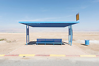 Israel, Holy land, Dead Sea, Bus Station, West Bank