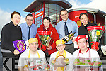 Garvey's Super Valu are preparing for their annual Christmas Food Fair which will be held in their store on Friday December 7th front row l-r: James Brosnan, Laura Spillane, Connoe O'Rourke. Back row: Liz O'Connor, Kevin O'Connor, Paul O'Connor, Willie Cotter and Helen Flynn