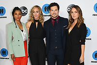 05 February 2019 - Pasadena, California - Kelly McCreary, Kim Raver, Giacomo Gianniotti, Camilla Luddington. Disney ABC Television TCA Winter Press Tour 2019 held at The Langham Huntington Hotel. <br /> CAP/ADM/BT<br /> &copy;BT/ADM/Capital Pictures