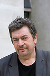 David Aaronovitch before the Talking to Terrorists talk at Christ Church during the Sunday Times Oxford Literary Festival, UK, 2-10 April 2011. <br />