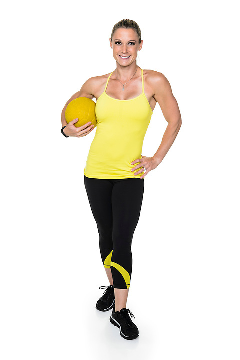 Fitness trainer Shana Verstegen is pictured in a studio portrait in Madison, Wis., on Aug. 21, 2016. (Photo by Jeff Miller, www.jeffmillerphotography.com)