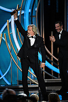 Jeff Bridges accepts the Cecil B. DeMille Award for his &ldquo;outstanding contribution to the entertainment field&rdquo; at the 76th Annual Golden Globe Awards at the Beverly Hilton in Beverly Hills, CA on January 6, 2019.<br /> *Editorial Use Only*<br /> CAP/PLF/HFPA<br /> Image supplied by Capital Pictures
