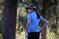 CHAPEL HILL, NC - OCTOBER 11: Nicole Lu of the University of North Carolina at UNC Finley Golf Course on October 11, 2019 in Chapel Hill, North Carolina.