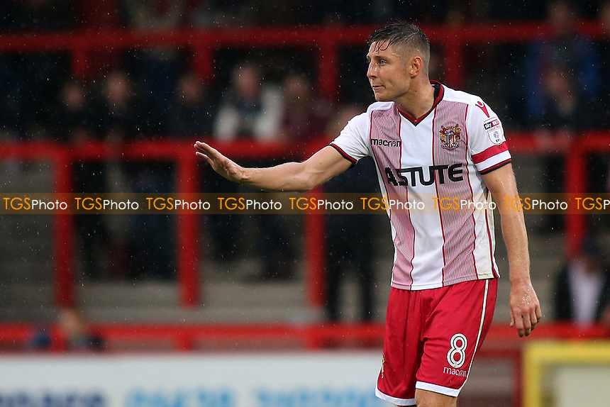 Harry Beautyman of Stevenage during Stevenage vs Norwich City, Friendly Match Football at the Lamex Stadium on 11th July 2017