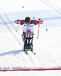 Pyeongchang, Korea, 14/3/2018-Derek Zaplotinsky competes in the cross country sprints during the 2018 Paralympic Games in PyeongChang. Photo Scott Grant/Canadian Paralympic Committee.
