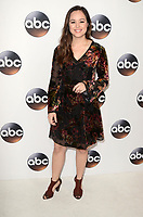 PASADENA, CA - JANUARY 8: Hayley Orrantia at Disney ABC Television Group's TCA Winter Press Tour 2018 at the Langham Hotel in Pasadena, California on January 8, 2018. <br /> CAP/MPI/DE<br /> &copy;DE/MPI/Capital Pictures