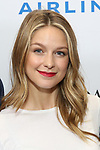 Melissa Benoist attends the United Airlines Presents: #StarsInTheAlley Produced By The Broadway League on June 1, 2018 in New York City.