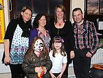 Brenda Fannin, Niamh Birch, Lena and Catherine McGrory, Francis and Aoibheann Byrne pictured at Ballapoosta christmas fair. Photo: Colin Bell/pressphotos.ie