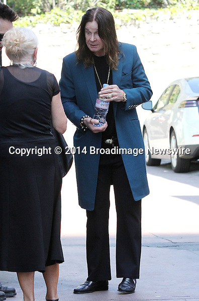 Pictured: Ozzy Osbourne<br /> Mandatory Credit &copy; Patron/Broadimage<br /> Ozzy Osbourne out and about in Beverly Hills<br /> <br /> 3/13/14, Beverly Hills, California, United States of America<br /> <br /> Broadimage Newswire<br /> Los Angeles 1+  (310) 301-1027<br /> New York      1+  (646) 827-9134<br /> sales@broadimage.com<br /> http://www.broadimage.com