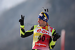 E.On IBU Biathlon World Cup 2013 - Antholz /  Anterselva - Italy.. Martin Fourcade on 18/01/2013 in Anterselva, Italy. ..© Pierre Teyssot