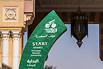 The start of Stage 5 of the Saudi Tour 2020 running 144km from Princess Nourah University to Al Masmak, Saudi Arabia. 8th February 2020. <br /> Picture: ASO/Kåre Dehlie Thorstad   Cyclefile<br /> All photos usage must carry mandatory copyright credit (© Cyclefile   ASO/Kåre Dehlie Thorstad)