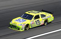 Feb 29, 2008; Las Vegas, NV, USA; NASCAR Sprint Cup Series driver Paul Menard during practice for the UAW Dodge 400 at Las Vegas Motor Speedway. Mandatory Credit: Mark J. Rebilas-US PRESSWIRE