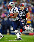 28 December 2008: New England Patriots' running back LaMont Jordan gains yardage against the Buffalo Bills at Ralph Wilson Stadium in Orchard Park, NY. The Patriots kept their playoff hopes alive defeating the Bills 13-0 in their 16th win against Buffalo of their past 17 meetings. ***** Editorial Use Only ******..Mandatory Photo Credit: Ed Wolfstein Photo