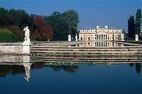 Villa Pisani (Villa Nazionale di Stra) erbaut 1736-1756 von Francesco Maria Preti, Stra, Venetien-Friaul, Italien