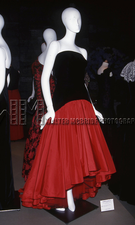 Designer Murray Arbeid - Collection of Princess Diana 'Dresses' Auction to Benefit the Royal Marsden Hospital Cancer Fund and Aids Crisis on June 18, 1997 at Christies in New York City.