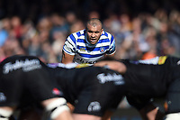 Jonathan Joseph of Bath Rugby looks on. Gallagher Premiership match, between Exeter Chiefs and Bath Rugby on March 24, 2019 at Sandy Park in Exeter, England. Photo by: Patrick Khachfe / Onside Images