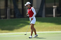 SINGAPORE - MARCH 03: Minjee Lee of Australia reaction on the 5th green during the final round of the HSBC Women's World Championship 2019 at Sentosa Golf Club - Tanjong Course, Singapore on March 03, 2019.<br /> .<br /> .<br /> .<br /> (Photo by: Naratip Golf Srisupab/SEALs Sports Images)<br /> .<br /> Any image use must include a mandatory credit line adjacent to the content which should read: Naratip Golf Srisupab/SEALs Sports Images