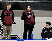 Dan Meenan (BC student manager), ?, Justin Murphy (BC student manager) - The Boston College Eagles and Providence Friars played to a 2-2 tie on Saturday, March 1, 2008 at Schneider Arena in Providence, Rhode Island.