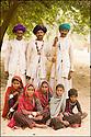 2006- Inde- désert du Rajasthan, groupe de berger.