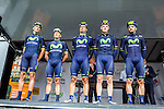 Movistar Team, Arnhem Veenendaal Classic , UCI 1.1, Veenendaal, The Netherlands, 22 August 2014, Photo by Thomas van Bracht / Peloton Photos