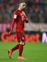 FUSSBALL  1. BUNDESLIGA  SAISON 2015/2016  24. SPIELTAG FC Bayern Muenchen - 1. FSV Mainz 05       02.03.2016 Franck Ribery (FC Bayern Muenchen)