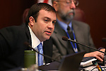 Nevada Assemblyman James Ohrenschall, D-Las Vegas, works in committee at the Legislative Building, in Carson City, Nev. on Wednesday, Feb. 20, 2013. .Photo by Cathleen Allison