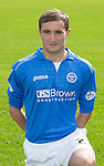 St Johnstone FC 2014-2015 Season Photocall..15.08.14<br /> Chris Kane<br /> Picture by Graeme Hart.<br /> Copyright Perthshire Picture Agency<br /> Tel: 01738 623350  Mobile: 07990 594431