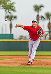 5 March 2015: Washington Nationals starting pitcher Max Scherzer on the mound for the first time in a Nationals uniform to start a Spring Training game against the New York Mets at Space Coast Stadium in Viera, Florida. The Nationals rallied to defeat the Mets 5-4 in their Grapefruit League home opening game. Mandatory Credit: Ed Wolfstein Photo *** RAW (NEF) Image File Available ***