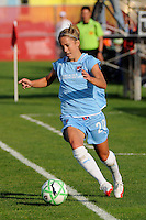 Kacey White (20) of Sky Blue FC. Sky Blue FC defeated the Boston Breakers 2-1 during a Women's Professional Soccer match at Yurcak Field in Piscataway, NJ, on May 31, 2009.