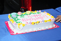 May 16, 2012 Maria Menounos' birthday cake at Good Morning America in New York City. Credit: RW/MediaPunch Inc.