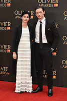 Natalia Osipova and Sergei Polunin<br /> The Olivier Awards 2018 , arrivals at The Royal Albert Hall, London, UK -on April 08, 2018.<br /> CAP/PL<br /> &copy;Phil Loftus/Capital Pictures
