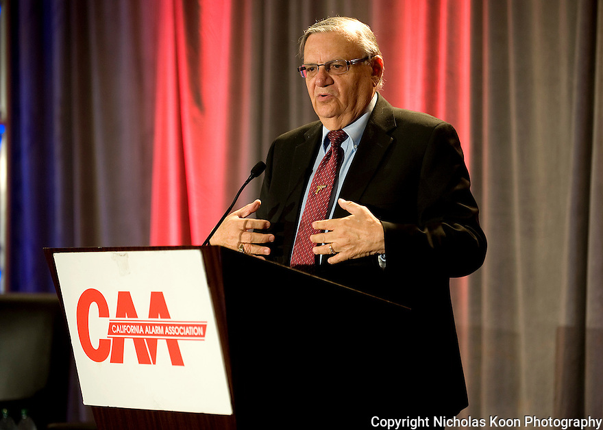 Sheriff Joe Arpaio - 2012 CAA Convention in San Francisco