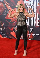 Brooke Ence at the world premiere for &quot;Justice League&quot; at The Dolby Theatre, Hollywood. Los Angeles, USA 13 November  2017<br /> Picture: Paul Smith/Featureflash/SilverHub 0208 004 5359 sales@silverhubmedia.com