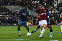 Javier Hernandez of West Ham United goes close during West Ham United vs Tottenham Hotspur, Caraboa Cup Football at The London Stadium on 31st October 2018