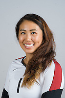 STANFORD, CA - AUGUST 13, 2013 - Lydia Bai of the Stanford Women's Volleyball team.