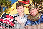 "Fancy that: Billy Stack and Jer ""Tutankhamun"" Galvin, organisers of the Mid May Fancy Dress at the Thatch Bar, Lisselton this Saturday, May 17th in aid of the Croi Heart Foundation.   Copyright Kerry's Eye 2008"