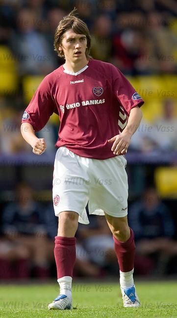 Deividas Cesnauskis, Hearts.stock season 2005-2006.pic willie vass