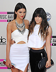LOS ANGELES, CA - NOVEMBER 24: Kendall Jenner, Kylie Jenner <br />  arrives at   The 2013 American Music Awards held at Nokia Live in Los Angeles, California on November 24,2013                                                                               &copy; 2013 Hollywood Press Agency