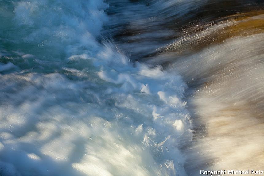 Rushing Stream 3, Lyell Fork