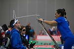 Grigorios Polychronidis (GRE)<br /> BISFed 2018 World Boccia Championships <br /> Exhibition Centre Liverpool<br /> 12.08.18<br /> &copy;Steve Pope<br /> Sportingwales