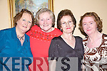 Having a good time at the Women's christmas in the Listowel Arms Hotel were Joan Lane, Kilmorna with Eileen, Helen and Mary Woulfe, from Athea...