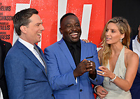 Ed Helms, Hannibal Buress &amp; Annabelle Wallis at the world premiere for &quot;TAG&quot; at the Regency Village Theatre, Los Angeles, USA 07 June  2018<br /> Picture: Paul Smith/Featureflash/SilverHub 0208 004 5359 sales@silverhubmedia.com