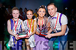 Winners of the Tralee Musical Society Strictly Young Dancing competition in Ballyroe Heights Hotel,Tralee on saturday night. Junior section, Timmy kerins and Laila Collins and Darragh Hurley and Katie-Ann Harris (snr section).