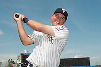 Staten Island Yankees infielder Eric Jagielo (14) during game against the Connecticut Tigers at Richmond County Bank Ballpark at St.George on July 7, 2013 in Staten Island, NY.  Staten Island defeated Connecticut 6-2.  (Tomasso DeRosa/Four Seam Images)
