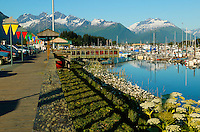 The Valdez Small Boat Harbor, Valdez, Alaska