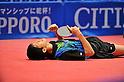 Maharu Yoshimura, JANUARY 22, 2012 - Table Tennis : Maharu Yoshimura celebrates during All Japan Table Tennis Championships Men's Singles final at Tokyo Metropolitan Gymnasium, Tokyo, Japan. (Photo by Jun Tsukida/AFLO SPORT) [0003]