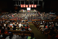 MIAMI, FL - MAY 05: Atmosphere during Shaquille O'Neal graduation where he receives doctoral degree in education from Barry University at James L Knight Center on May 5, 2012 in Miami, Florida.  (photo by: MPI10/MediaPunch Inc.)